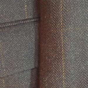 Jos A Bank grey wool herringbone sport coat